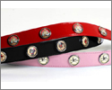 Leather Lucky Pup Collars